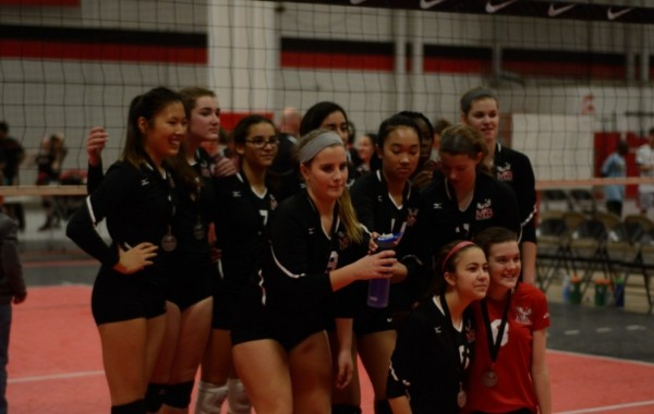 MBVB U16 Silver at NVVA tournament